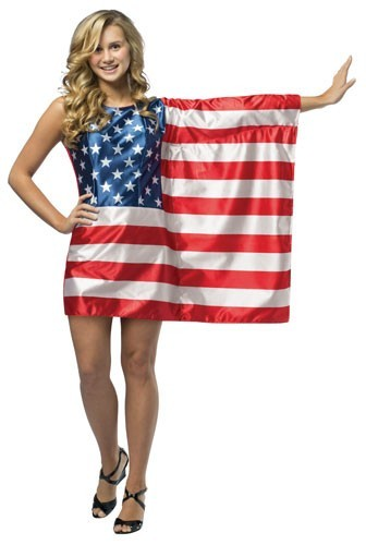Teen American Flag Dress