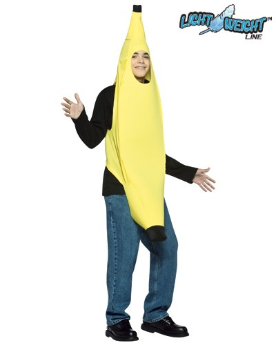 Teen Banana Costume - Lightweight