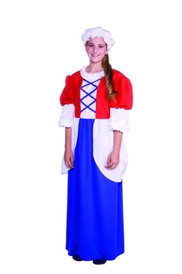 Teen Betsy Ross Costume