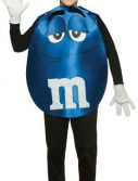 Teen Blue M&M'S Character Poncho Costume