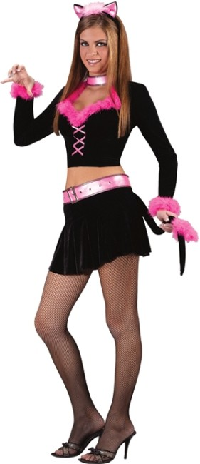 Teen Purr-fect Lady Costume