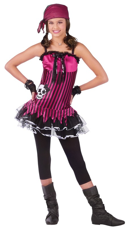 Teen Rockin' Skull Pirate Costume