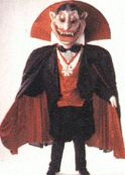 The Count Vampire Mascot Costume