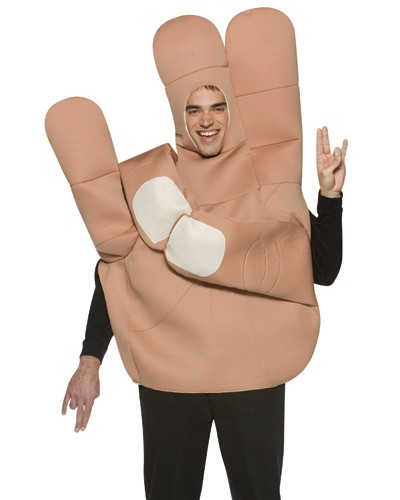 The Shocker Hand Costume