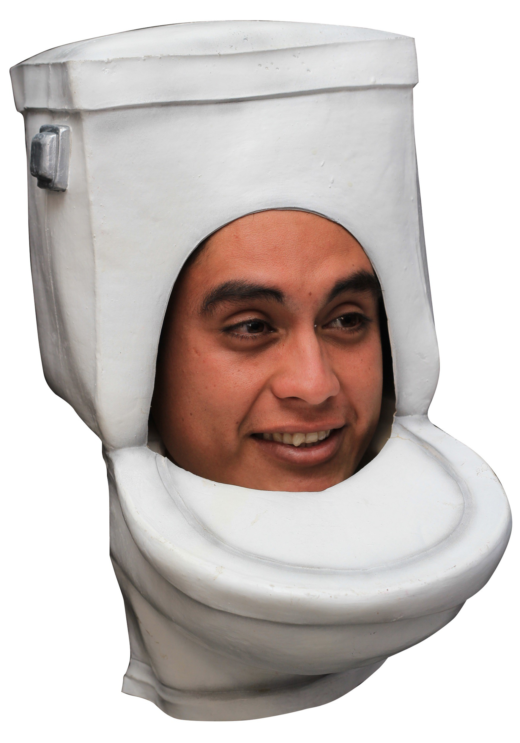 The Toilet Adult Mask