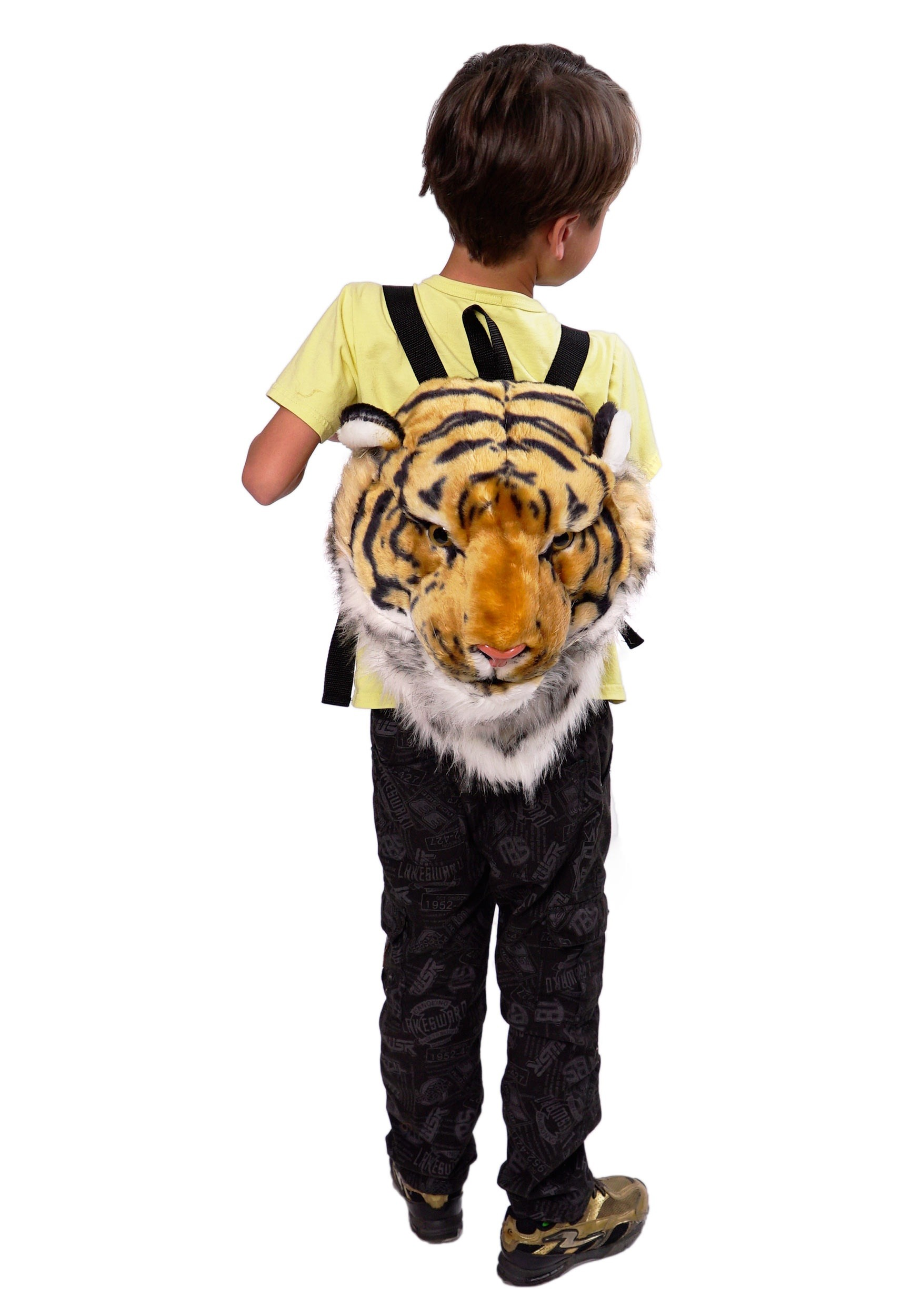 Tiger Animal Head Mini Backpack