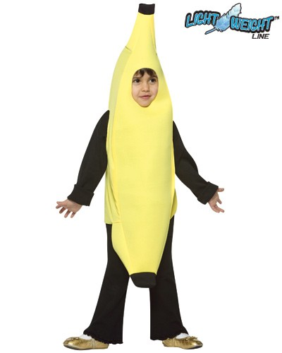 Toddler Banana Costume - Lightweight