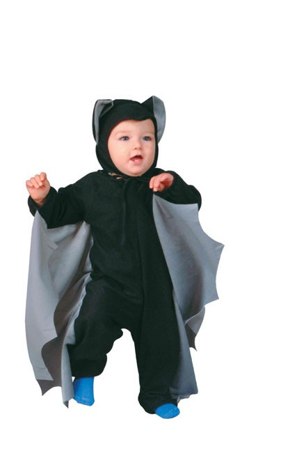 Toddler Bat Costume (Grey Wings)