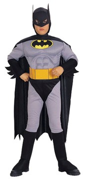 Toddler Batman CostumeMuscle Chest