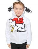 Toddler Boys Peanuts Joe Cool Costume Zip Up Hoodie