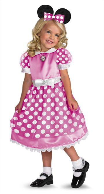 Toddler Clubhouse Pink Minnie Mouse Costume