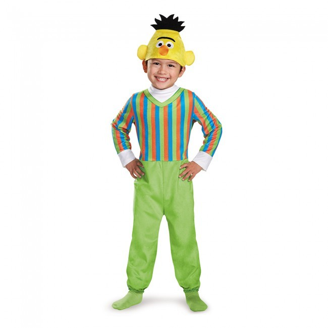 Toddler Deluxe Bert Costume