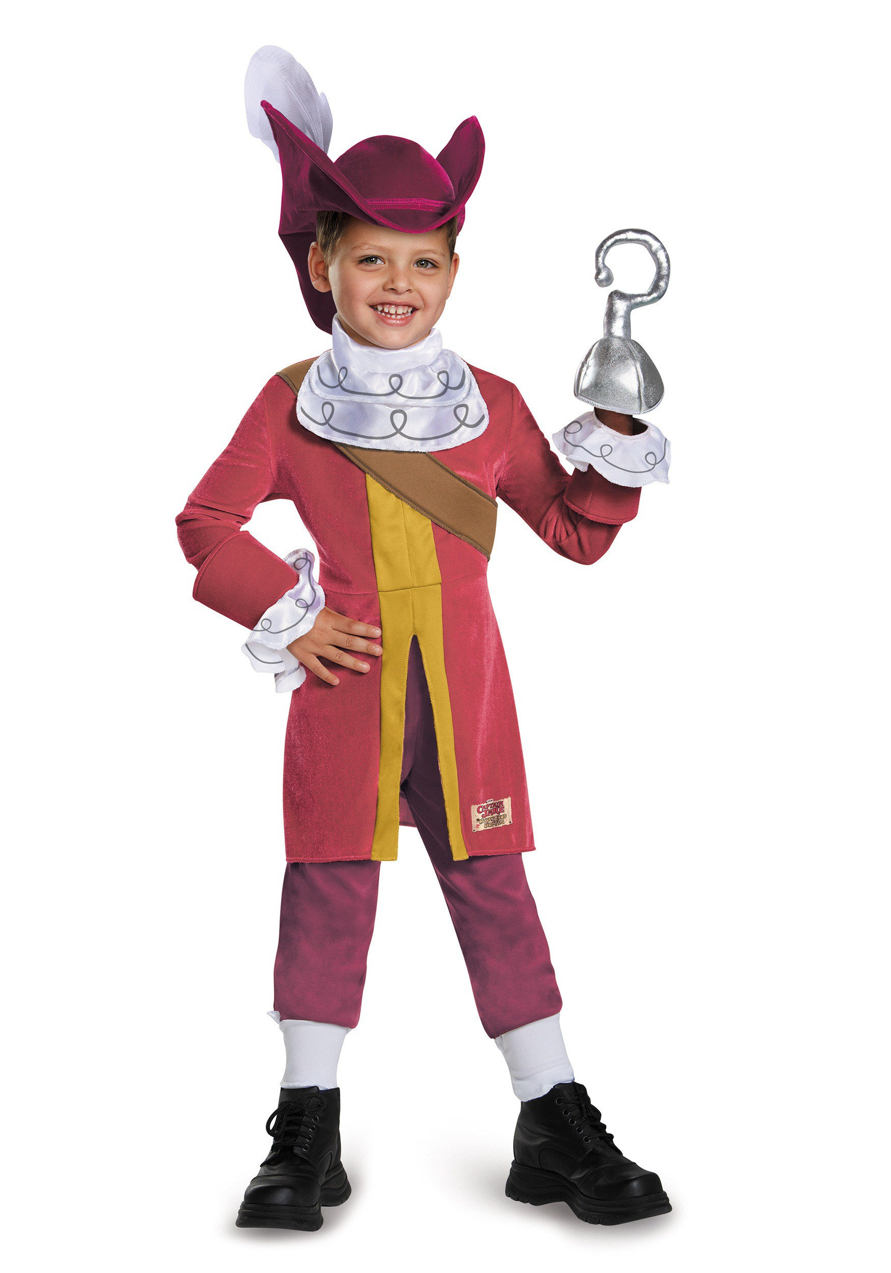 Toddler Deluxe Captain Hook Costume