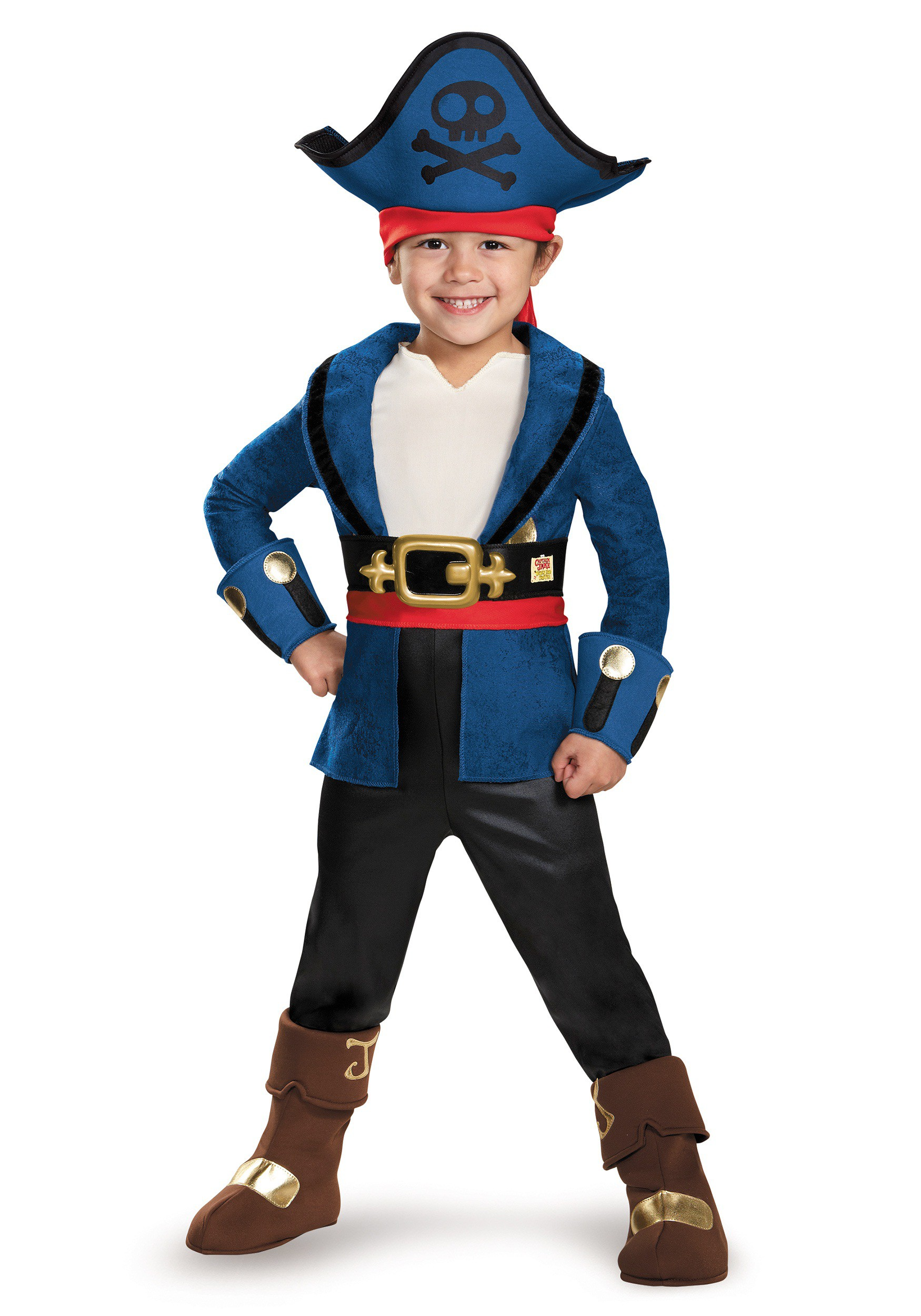 Toddler Deluxe Captain Jake Costume