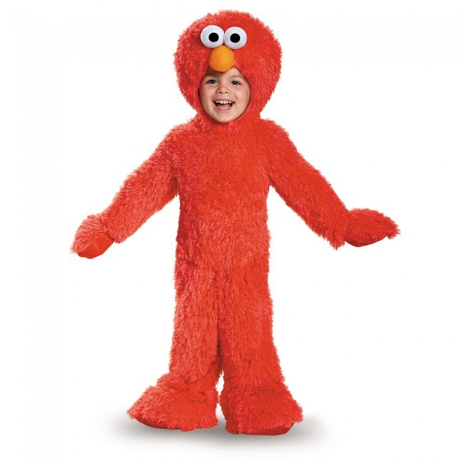 Toddler Deluxe Extra Plush Elmo Costume