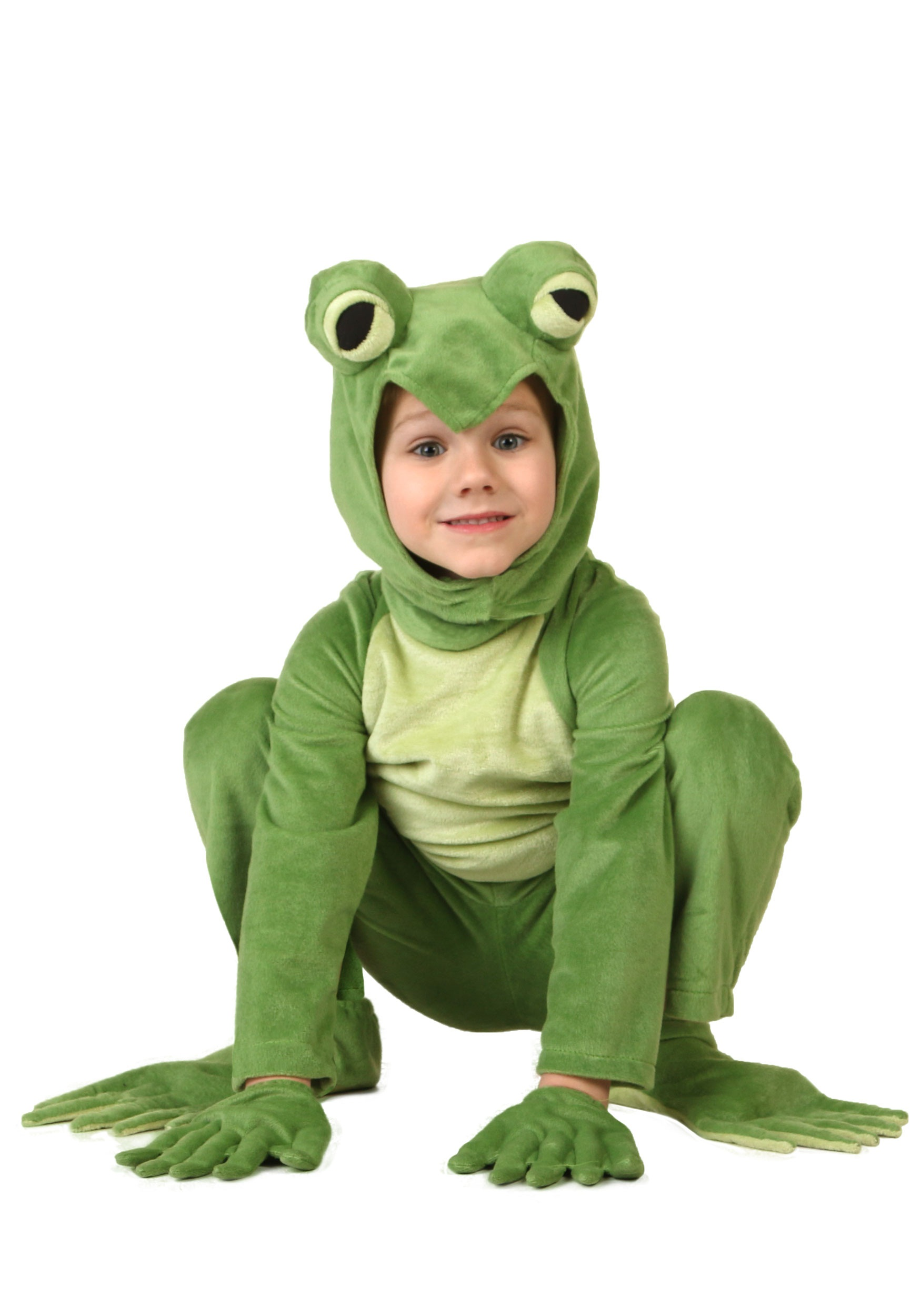 Toddler Deluxe Frog Costume