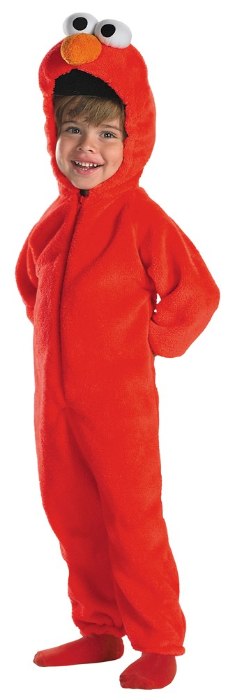 Toddler Deluxe Giggling Elmo Costume