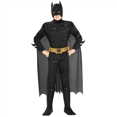 Toddler Deluxe Muscle Chest Batman Costume
