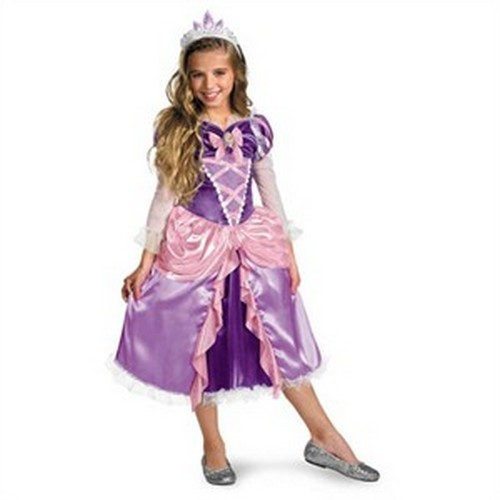 Toddler Deluxe Tangled Rapunzel Costume