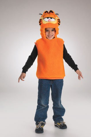 Toddler Garfield Costume Vest