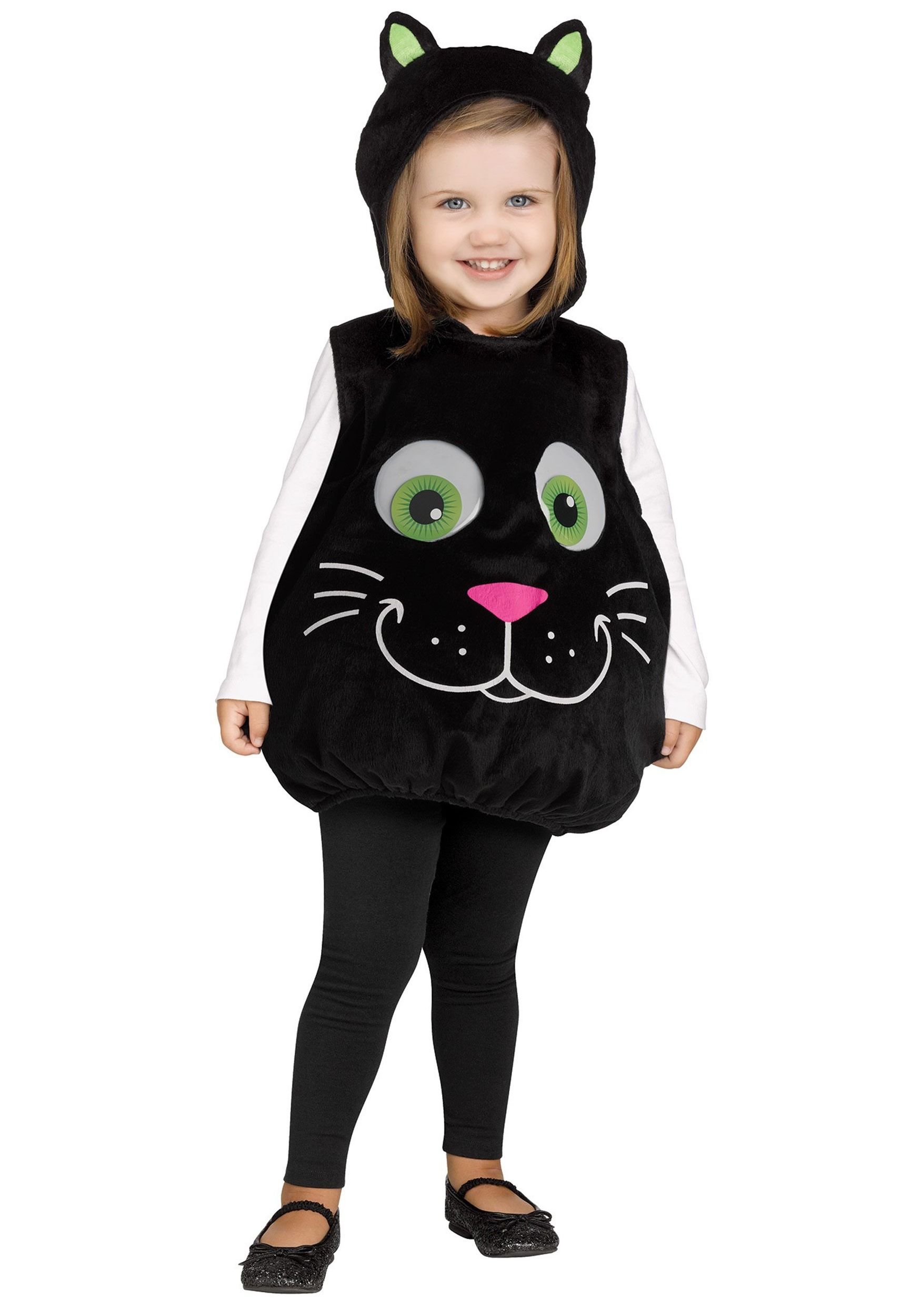 Toddler Googly Eye Cat Costume