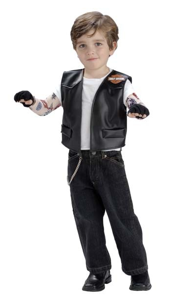 Toddler Harley Davidson Costume Kit
