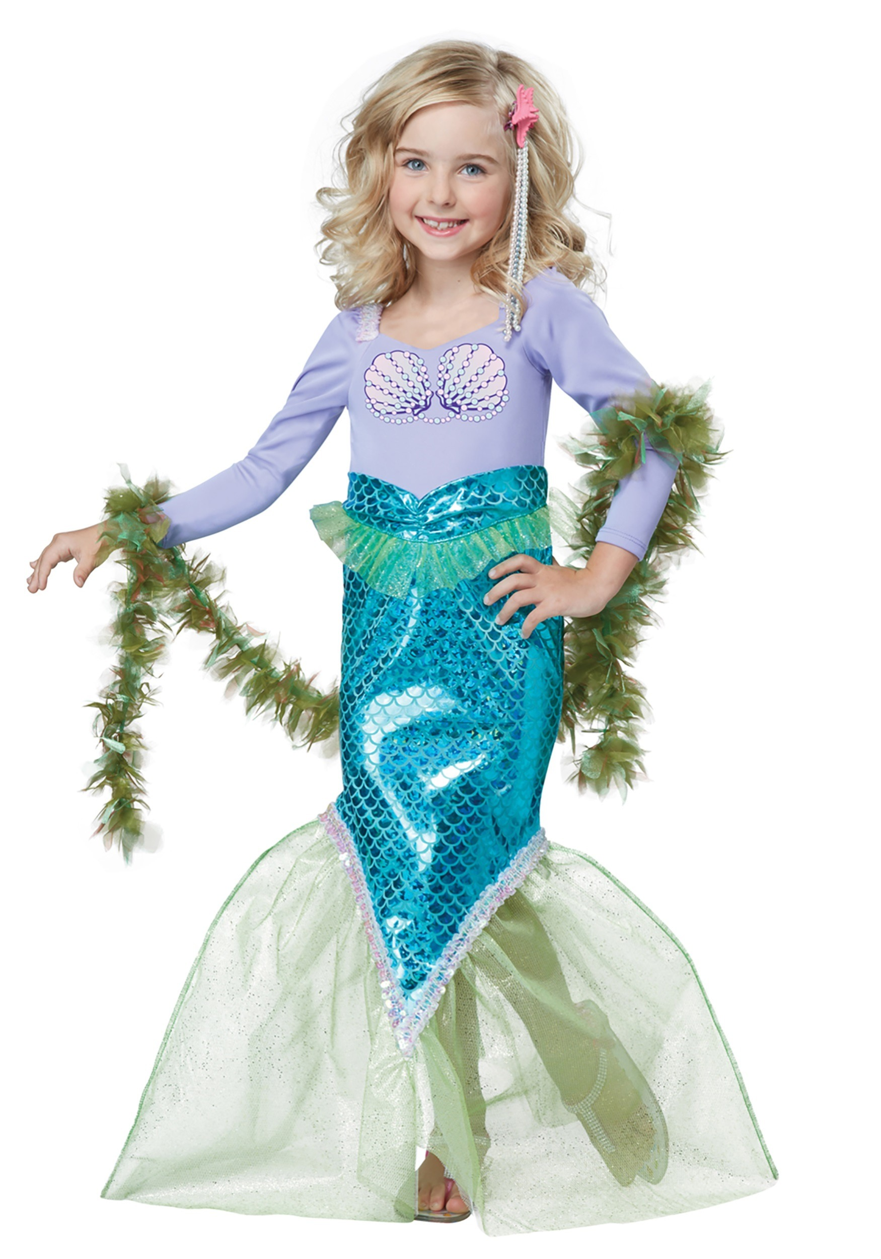 Toddler Magical Mermaid Costume