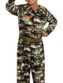 Toddler Major Trouble Soldier Costume