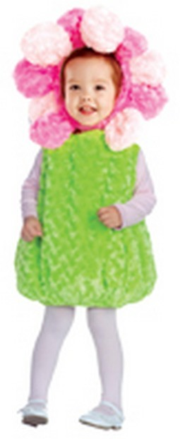 Toddler Pink Flower Costume