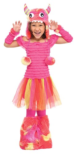 Toddler Pink Monster Costume