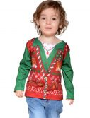 Toddler Ugly Christmas Vest Shirt