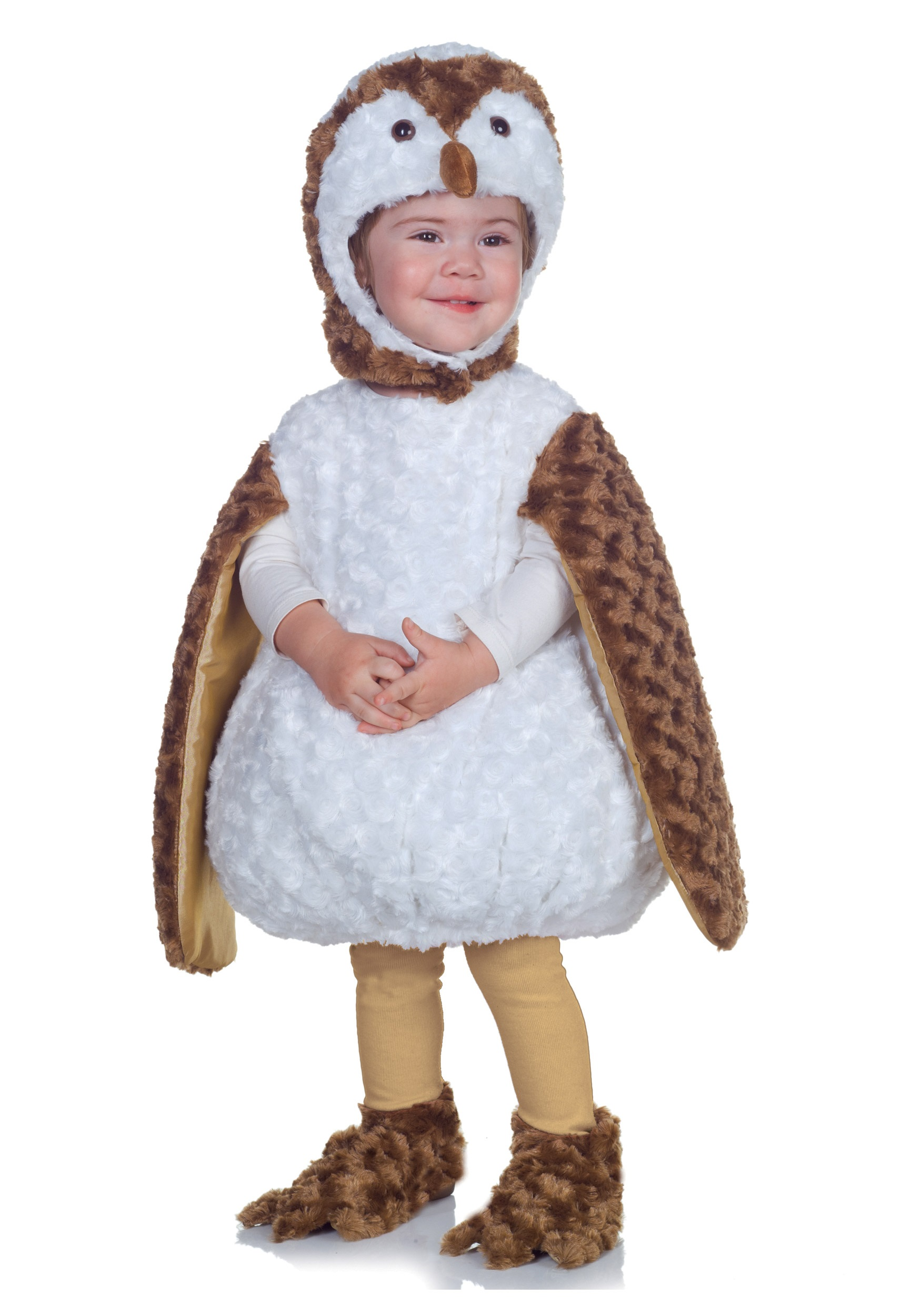Toddler White Barn Owl Costume