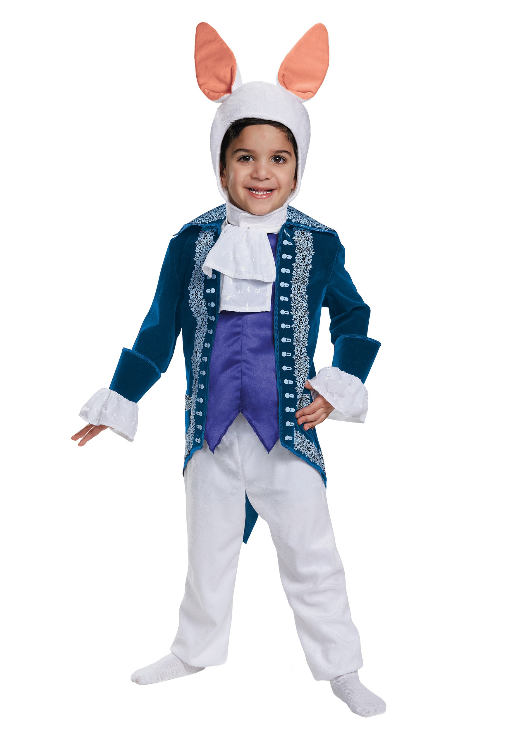 Toddler White Rabbit Deluxe Costume