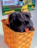 Toto in a Basket - Dorothy Costume Accessory