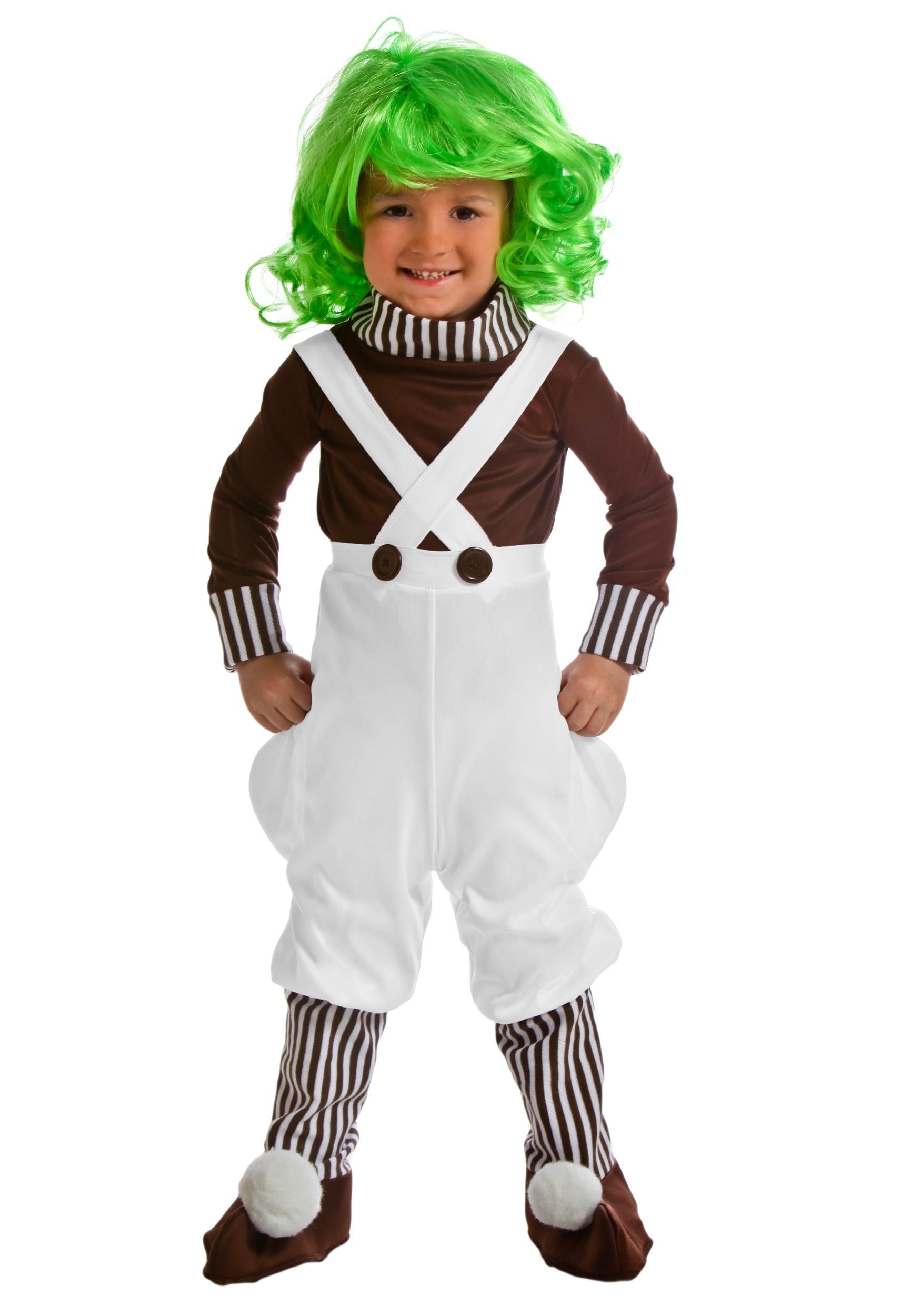Tots Chocolate Factory Worker Costume