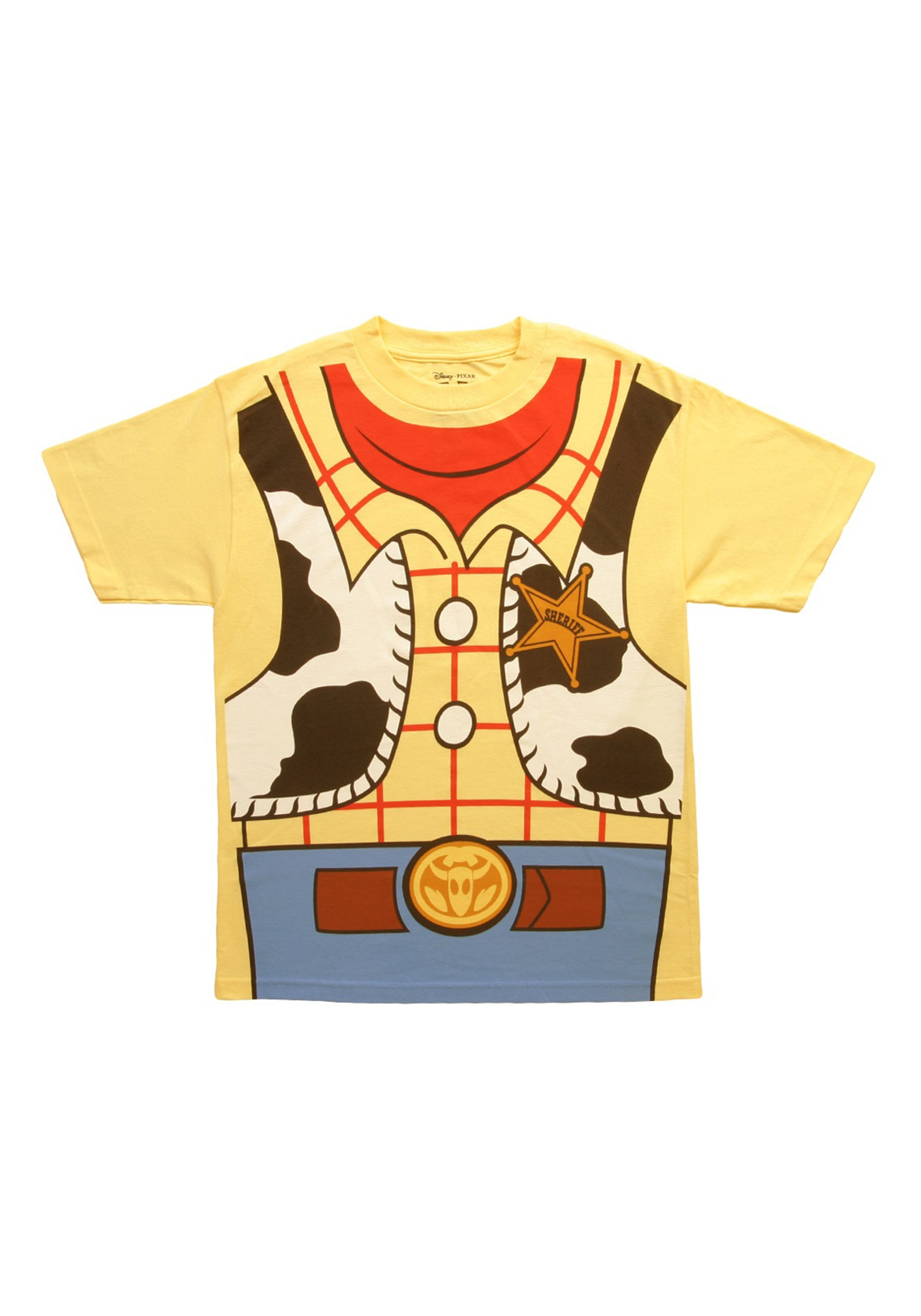 Toy Story I Am Woody Men's Costume T-Shirt