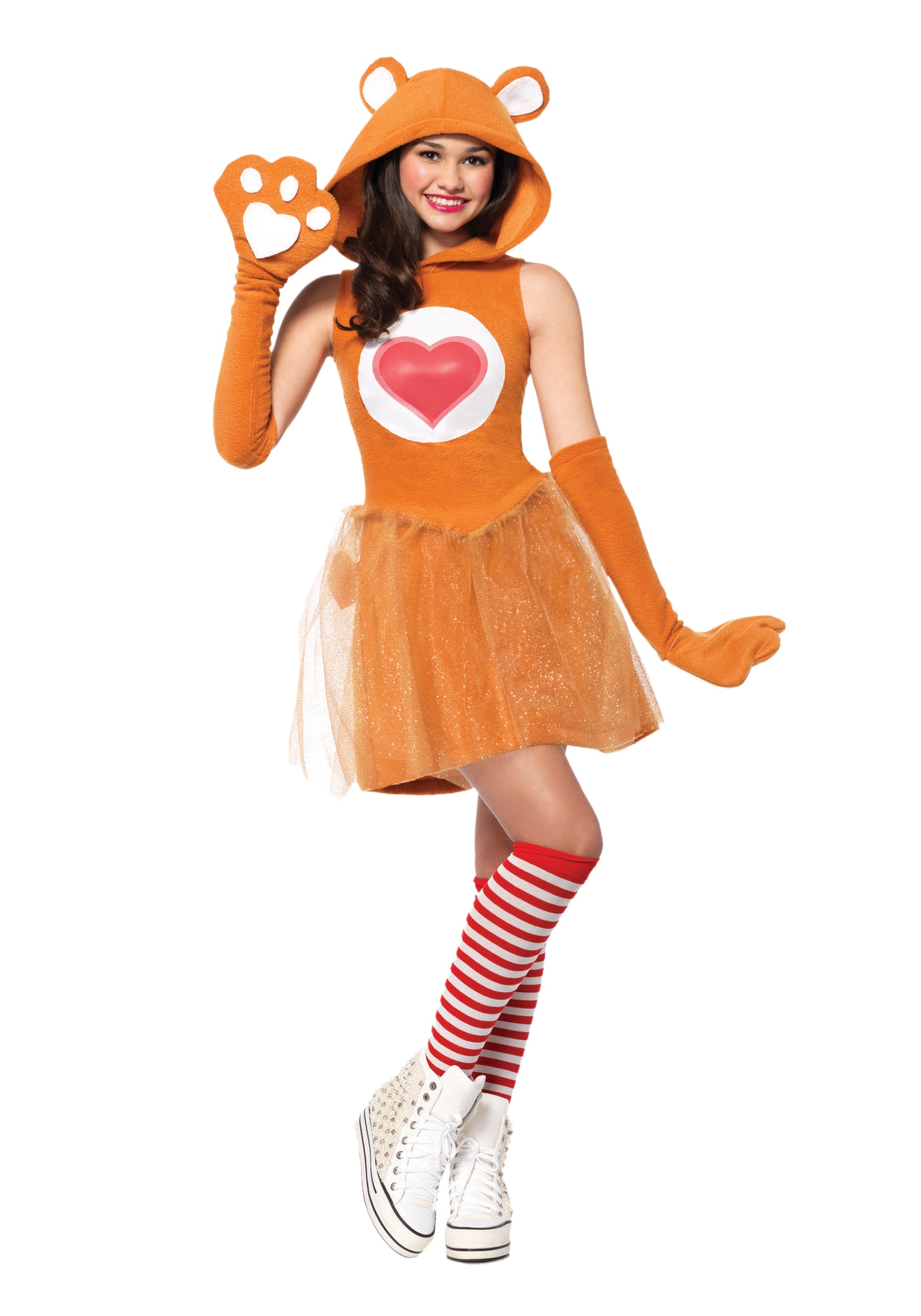 Tween Care Bears Tenderheart Bear Costume
