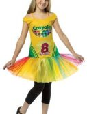Tween Crayola Crayon Box Tutu Dress - 10-12