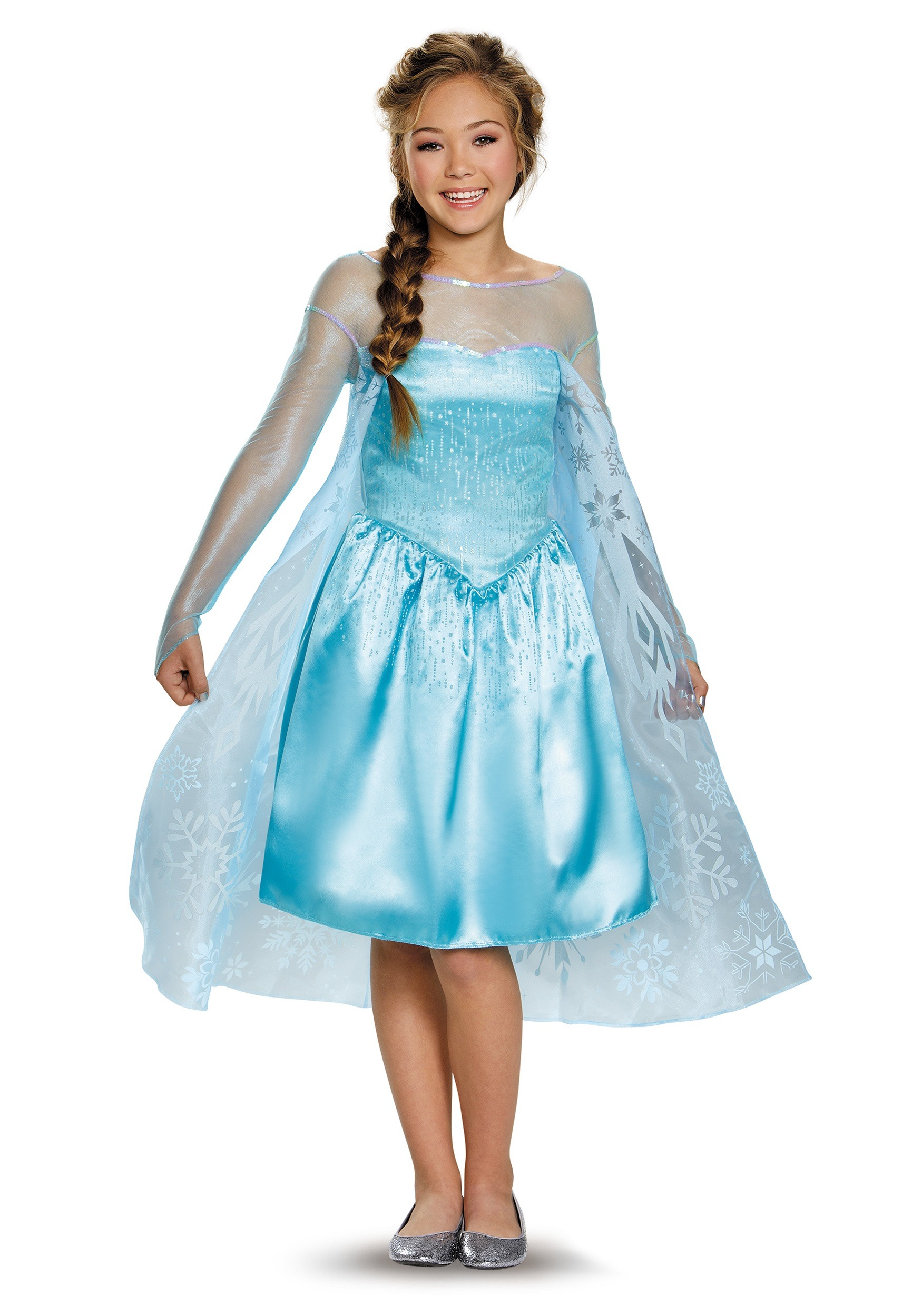 Tween Frozen Elsa Costume