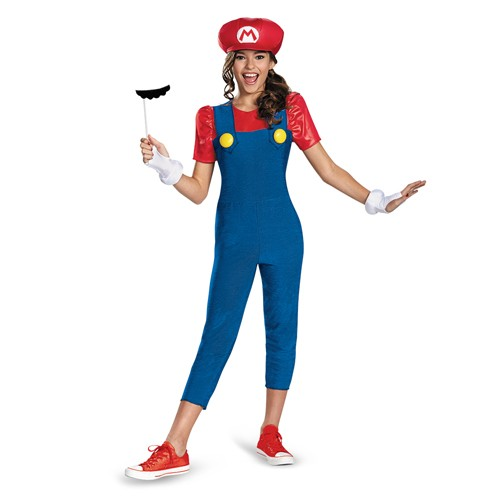 Tween Mario Girl Costume