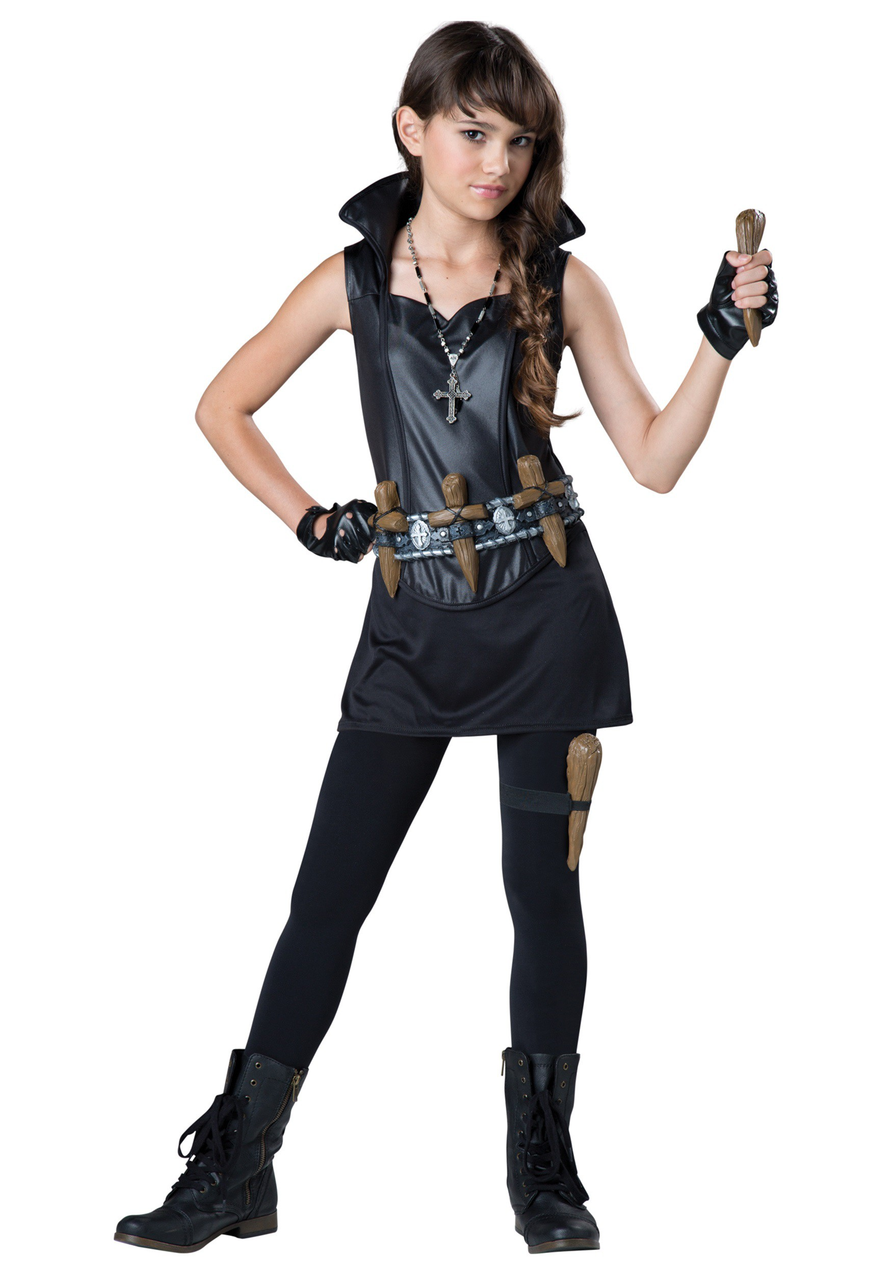 Tween Vampire Slayer Costume