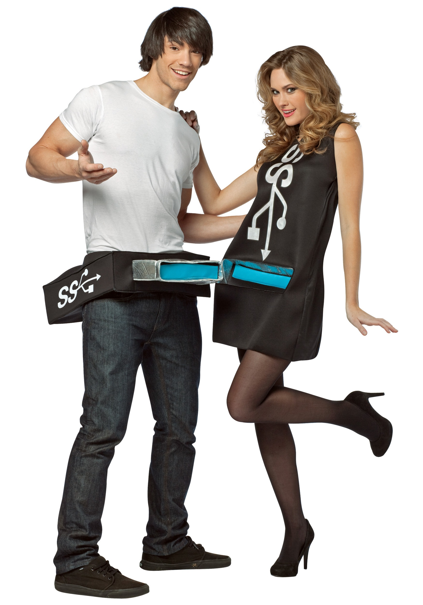 USB Port & Drive Costume