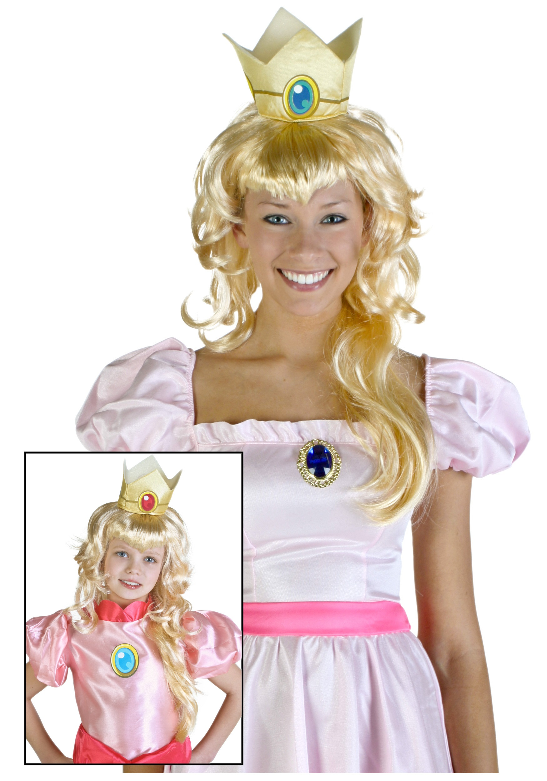 Video Game Princess Wig