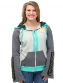 Vocaloid Miku Hatsune Double Sleeve Costume Hoodie