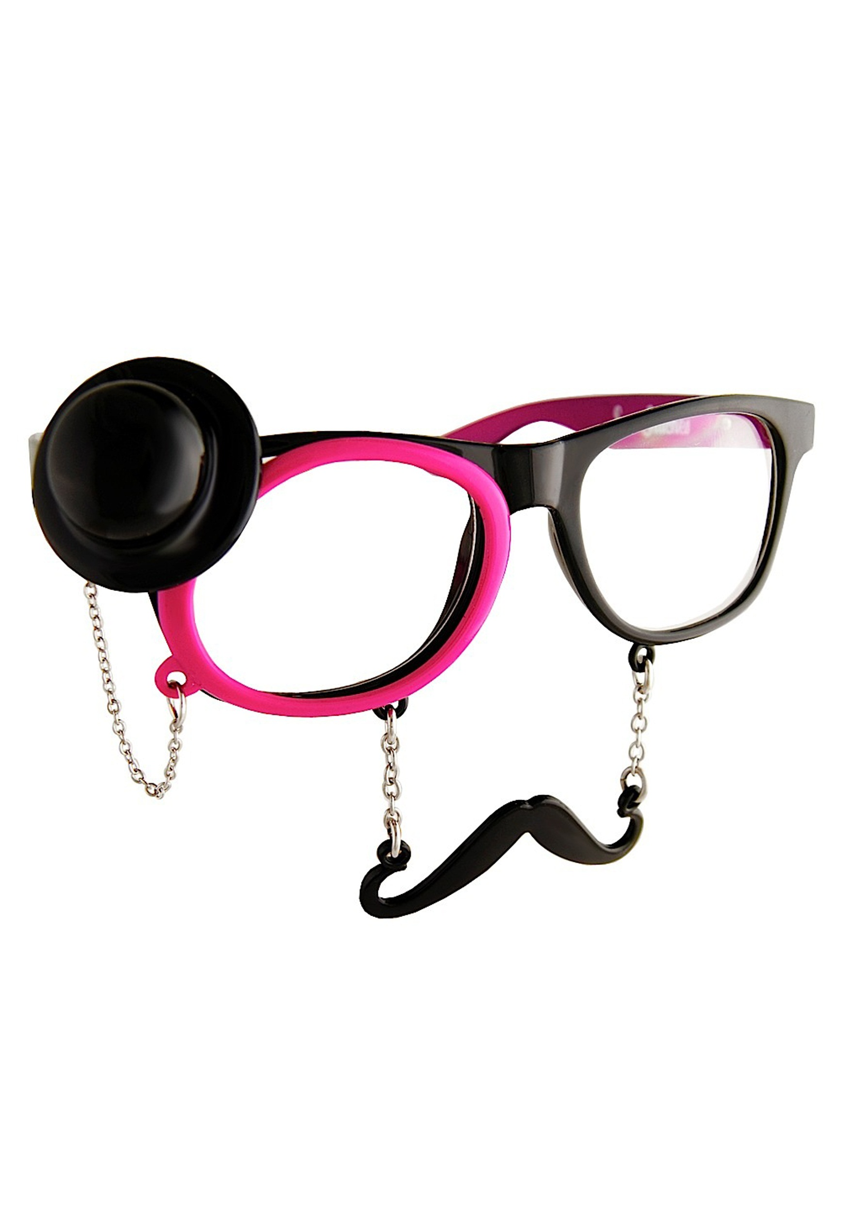 Western Sunglasses with Monocle