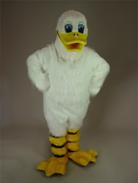 White Duck Mascot Costume