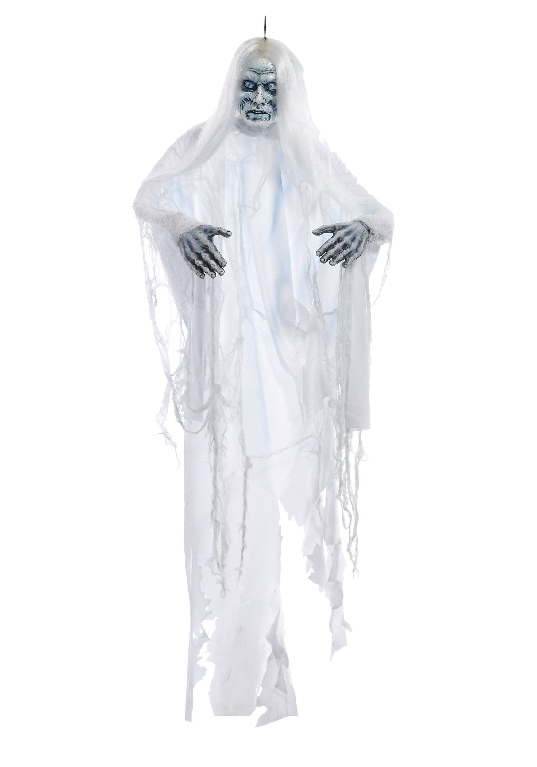 White Shadow Ghost Hanging Prop