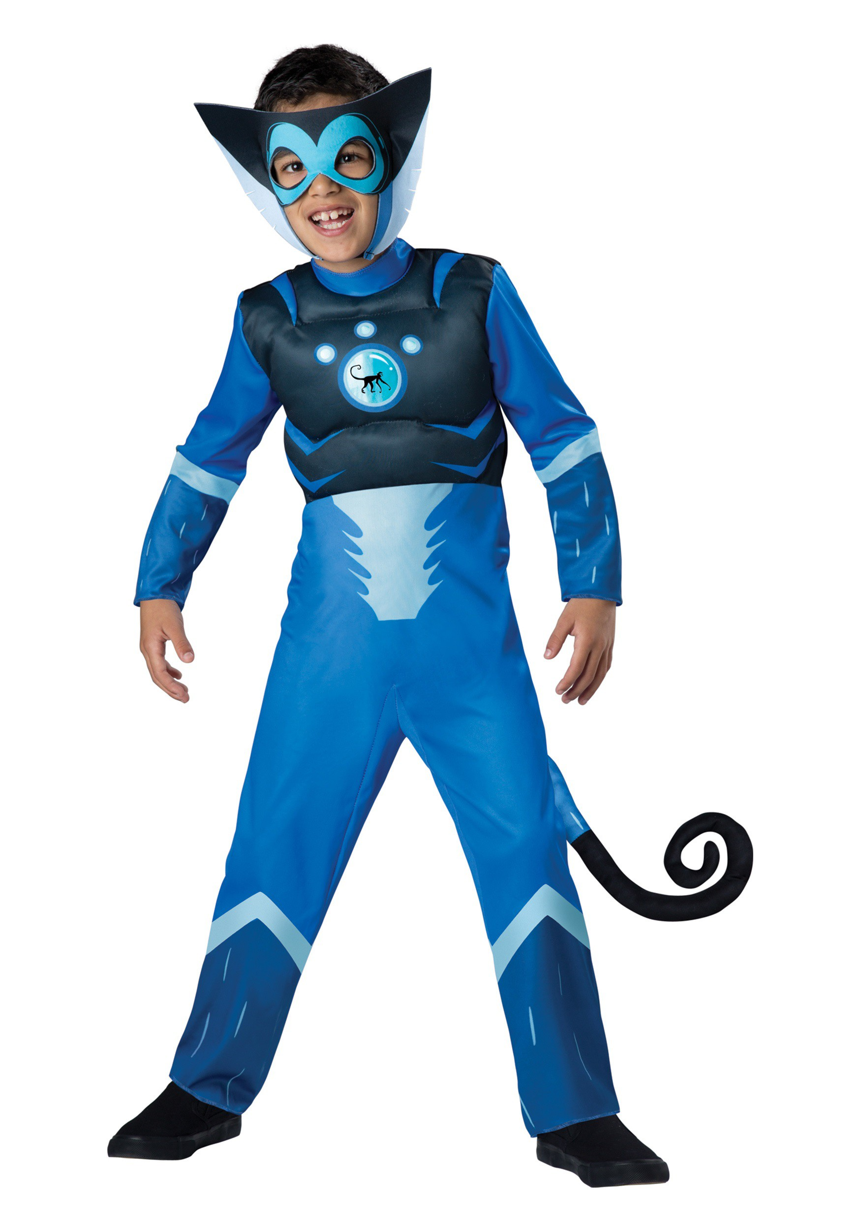 Wild Kratts Blue Spider Monkey Costume
