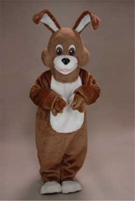 Wild Rabbit Mascot Costume