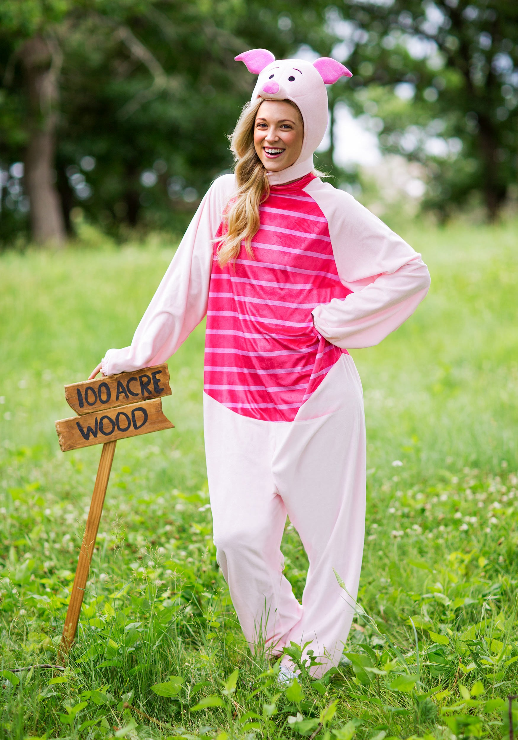 Winnie the Pooh Piglet Deluxe Adult Costume